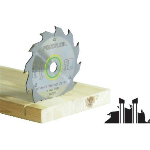 Festool 500461 6-1/4 in. 18-Tooth Ripping Saw Blade
