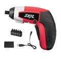 Factory Reconditioned Skil iXO 4V Max Cordless Lithium-Ion Palm-Sized Screwdriver and 5-Piece Bit Set