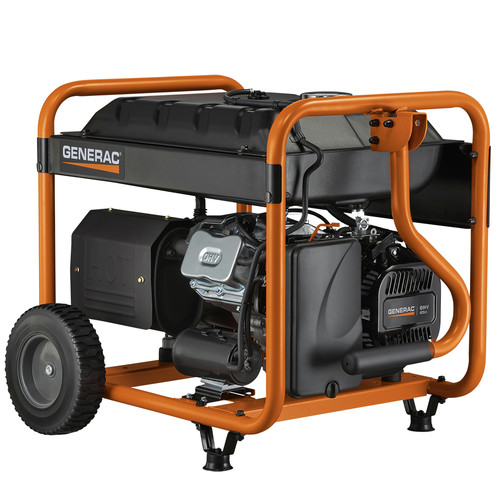 Generac 6954 GP800E 8,000 Watt Gas Portable Generator image number 2