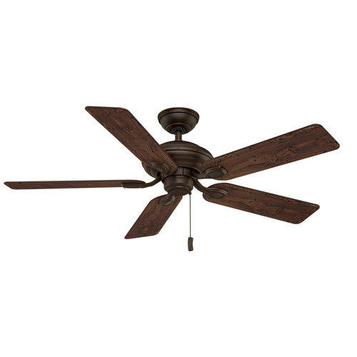 Casablanca 54035 52 in. Utopian Brushed Cocoa Ceiling Fan