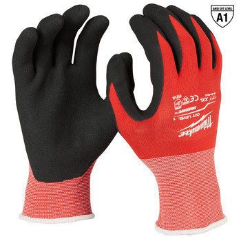 Milwaukee 48-22-8904B 12-Piece Cut Level 1 Nitrile Dipped Gloves - 2XL