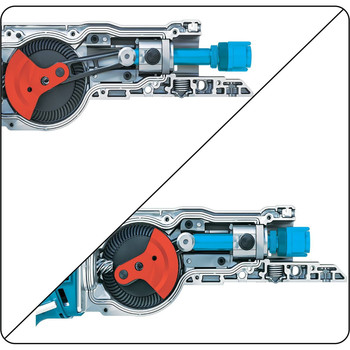 Makita XRJ05Z LXT 18V Cordless Lithium-Ion Brushless Reciprocating Saw (Tool Only) image number 10