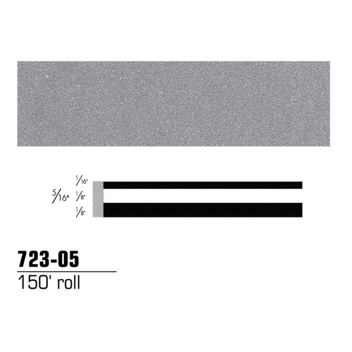 3M 72305 Scotchcal Striping Tape, Silver Metallic, 5/16 in. x 150 ft.