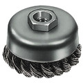 Milwaukee 48-52-5040 3 in. Knotted Wire Cup Brush
