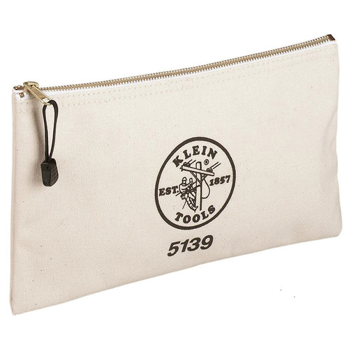 Klein Tools 5139 Canvas Zipper Bag image number 0