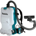 Makita XCV17PG 18V X2 (36V) LXT Brushless Lithium-Ion 1.6 Gallon Cordless HEPA Filter Backpack Dry Vaccum Kit (6 Ah) image number 1