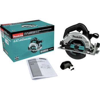 Factory Reconditioned Makita XSH04ZB-R 18V LXT Li-Ion Sub-Compact Brushless Cordless 6-1/2 in. Circular Saw (Tool Only)