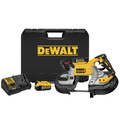 Dewalt DCS376P2 20V MAX 5 in. Dual Switch Band Saw Kit image number 0