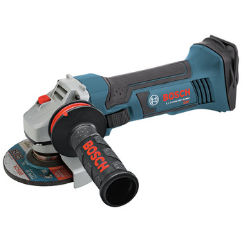 Factory Reconditioned Bosch GWS18V-45-RT 18V Lithium-Ion 4-1/2 in. Angle Grinder (Tool Only)