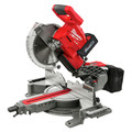 Milwaukee 2734-21 M18 FUEL Lithium-Ion Brushless Dual Bevel Sliding 10 in. Cordless Compound Miter Saw Kit (8 Ah) image number 1