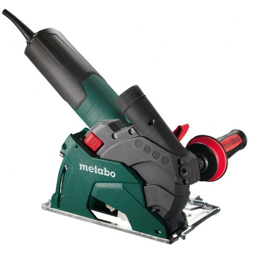 Metabo W12-125 HD Set CED 10.5 Amps 5 in. Masonry Cutting/Scoring Angle Grinder