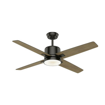 Casablanca 59341 52 in. Axial Noble Bronze Ceiling Fan with Light with Wall Control