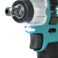 Makita WT06Z 12V max CXT Lithium-Ion Brushless 1/2 in. Square Drive Impact Wrench (Tool Only) image number 3