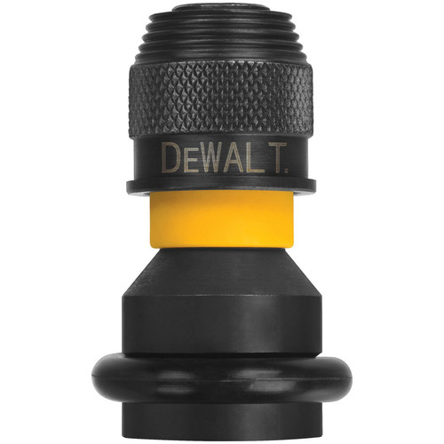 Dewalt DW2298 1/2 in. Square Female to 1/4 in. Hex Rapid Load Chuck image number 0