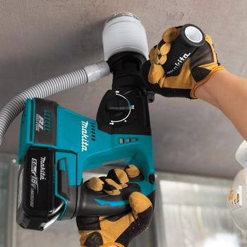 Makita XRH01T 18V LXT Lithium-Ion Brushless 1 in. Cordless Rotary Hammer Kit (5 Ah) image number 2