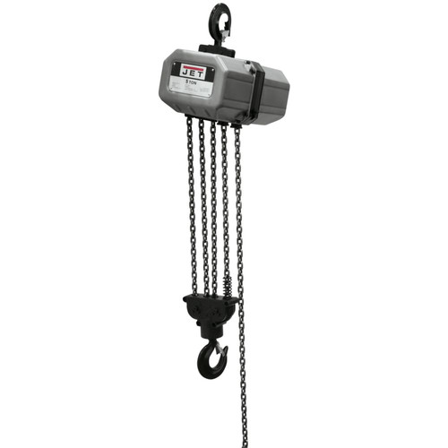 JET 5SS-1C-15 5 Ton Capacity 15 ft. 1-Phase Electric Chain Hoist image number 0