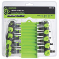 Greenlee 52041113 10-Piece T-Handle Hex Key Driver Set image number 2