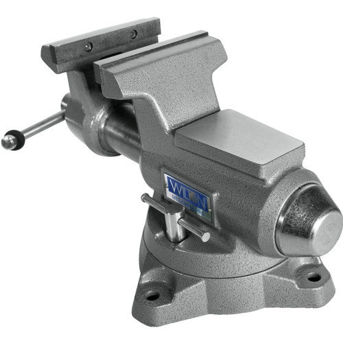 Wilton 28811 855M Mechanics Pro Vise with 5-1/2 in. Jaw Width, 5 in. Jaw Opening and 360-degrees Swivel Base image number 3