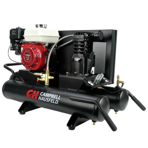 Campbell Hausfeld CE2000 5.5 HP Single-Stage 8 Gallon Oil-Lube Wheelbarrow Horizontal Air Compressor