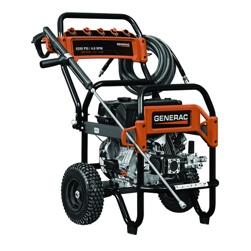 Generac 6565 4,200 PSI 4.0 GPM Commercial Gas Pressure Washer image number 0