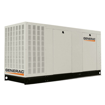 Generac QT07068ANAC Liquid-Cooled 6.8L 70kW 120/240V Single Phase Natural Gas Aluminum Commercial Generator (CARB)
