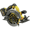 Dewalt DCS575T2 FlexVolt 60V MAX Cordless Lithium-Ion 7-1/4 in. Circular Saw Kit with Batteries image number 1