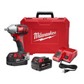 Milwaukee 2659-22 M18 18V Cordless Lithium-Ion 1/2 in. Impact Wrench Kit with Pin Detent