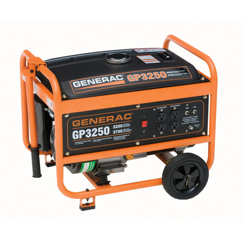 Factory Reconditioned Generac 5789R GP Series 3,250 Watt Portable Generator (CARB) image number 0