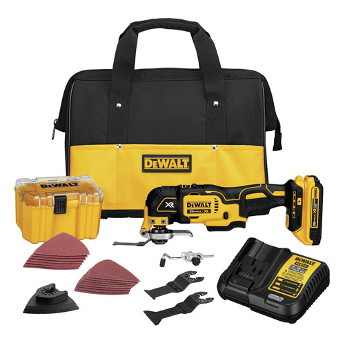 Factory Reconditioned Dewalt DCS355D1R 20V MAX XR Cordless Lithium-Ion Brushless Oscillating Multi-Tool Kit image number 0