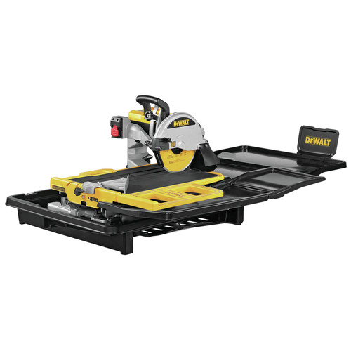 Dewalt D36000 15 Amp 10 in. High Capacity Wet Tile Saw image number 0