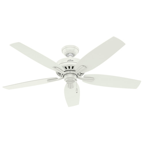 Hunter 53322 52 in. Newsome Fresh White Ceiling Fan image number 0