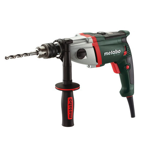Metabo BE1100 1/2 in. 0 - 900 / 0 - 2,800 RPM 9.6 AMP Drill