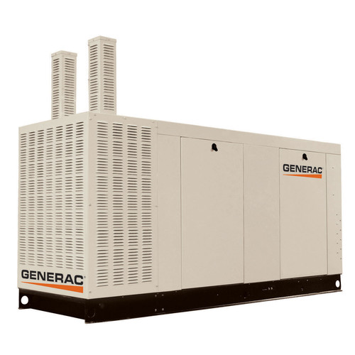 Generac QT15068KNAC Liquid-Cooled 6.8L 150kW 277/480V 3-Phase Natural Gas Aluminum Commercial Generator (CARB) image number 0
