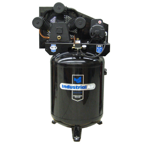 Industrial Air ILA5746080 5.7 HP 60 Gallon Oil-Lubricated Stationary Air Compressor image number 0