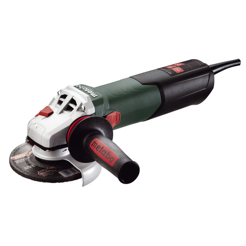 Metabo W12-125 Quick 10.5 Amp 5 in. Angle Grinder with Lock-On Sliding Switch