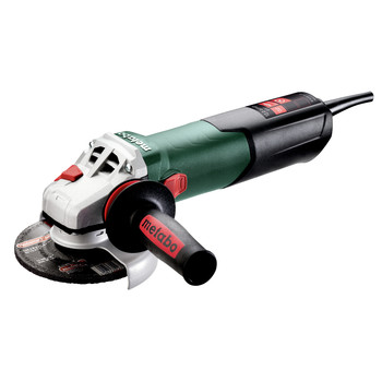 Metabo 603627420 W 13-125 Quick 12 Amp 11,000 RPM 4.5 in. / 5 in. Corded Angle Grinder with Lock-on