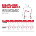 Milwaukee 415G-S WORKSKIN Lightweight Long Sleeve Performance Shirt - Gray, Small image number 5