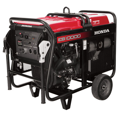 Honda EB10000 10,000 Watt Industrial Portable Generator with DAVR Technology (CARB)