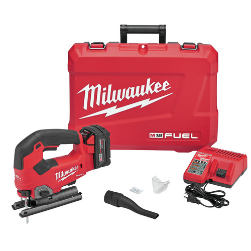 Milwaukee 2737-21 M18 FUEL D-Handle Jig Saw Kit image number 0