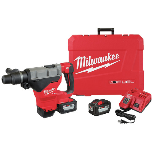 Milwaukee 2718-22HD M18 FUEL 1-3/4 in. SDS MAX Rotary Hammer with ONE KEY and (2) 12 Ah Batteries image number 0