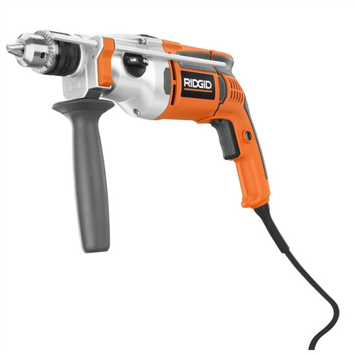 Factory Reconditioned Ridgid ZRR5011 8.5 Amp 1/2 in. Heavy Duty 2-Speed Hammer Drill
