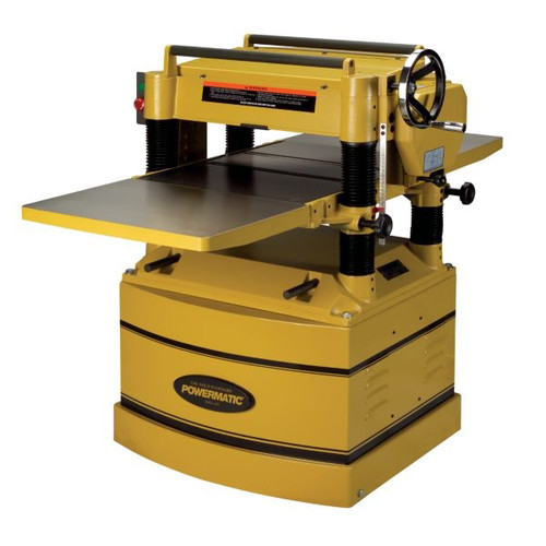 Powermatic 209HH-1 20 in. 1-Phase 5-Horsepower 230V Planer with Byrd Shelix Cutterhead