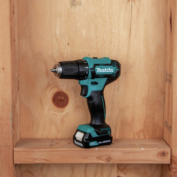 Makita FD09R1 12V max CXT Lithium-Ion Brushless 3/8 in. Cordless Drill Driver Kit (2 Ah) image number 8