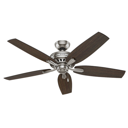 Hunter 53321 52 in. Newsome Brushed Nickel Ceiling Fan