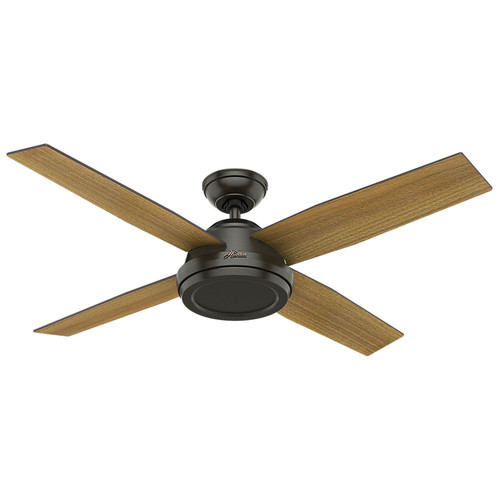 Hunter 59448 52 in. Dempsey Noble Bronze Ceiling Fan with Handheld Remote image number 0