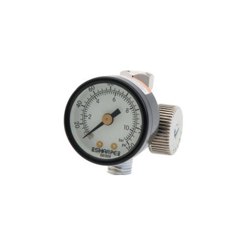 Sharpe 24AAV 1/4 in. Air Adjusting Regulator Valve with Gauge image number 0