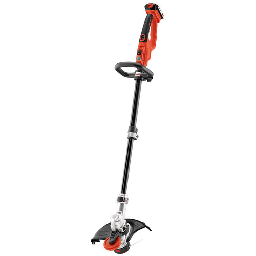 Black & Decker LST420 20V MAX Lithium-Ion Cordless 12 in. High Performance Trimmer and Edger