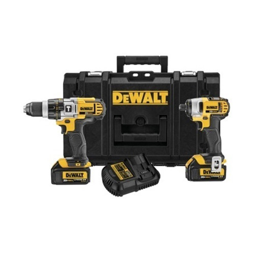 Factory Reconditioned Dewalt DCKTS290L2R 20V MAX 2-Tool Combo Kit w/Tough System