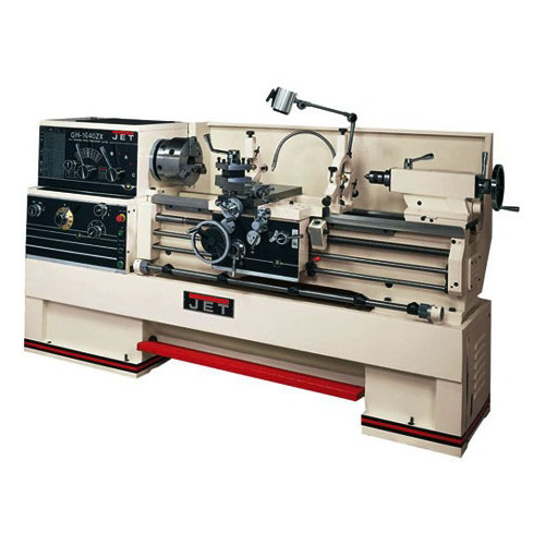 JET GH-1660ZX Lathe with 300S DRO and Collet Closer image number 0