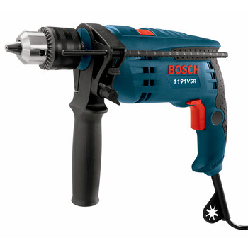 Factory Reconditioned Bosch 1191VSRK-RT 7 Amp Single Speed 1/2 in. Corded Hammer Drill